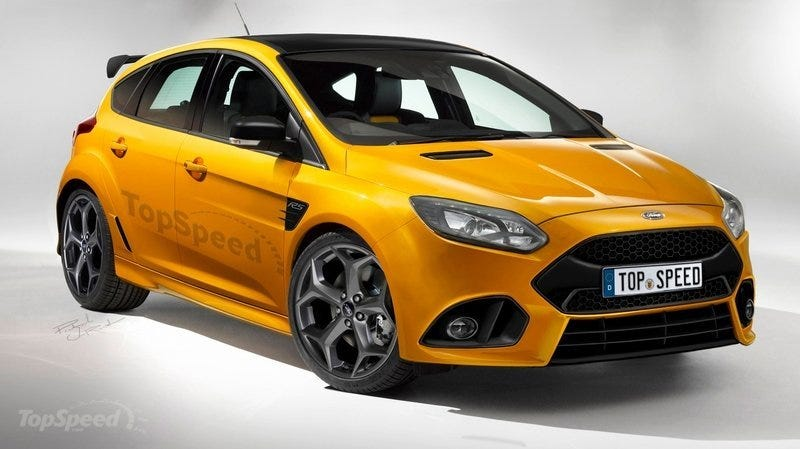 Illustration for article titled Let's Hope The Next Ford Focus RS Looks This Badass