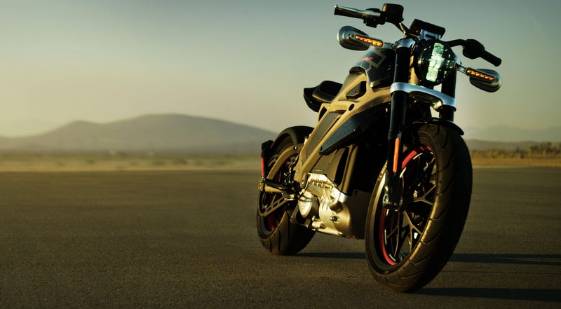 The LiveWire ridable concept bike (Image: Harley-Davidson)