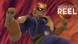Illustration for article titled Highlight Reel: High Speed Captain Falcon Knockout