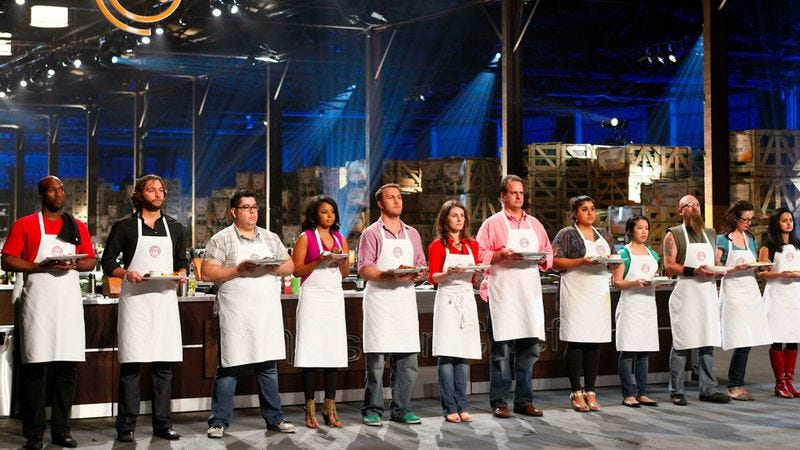 "Illustration for article titled MasterChef: ""Auditions #3; Top 36 Bootcamp""/""Top 18 Compete"""