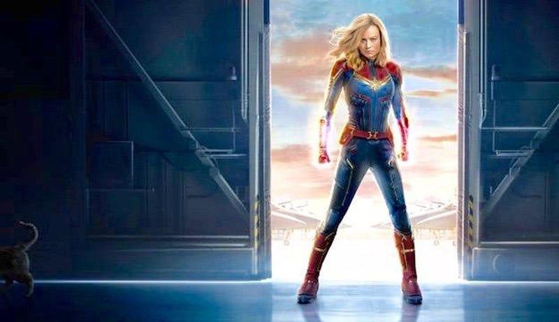 Illustration for article titled Just Saw Captain Marvel