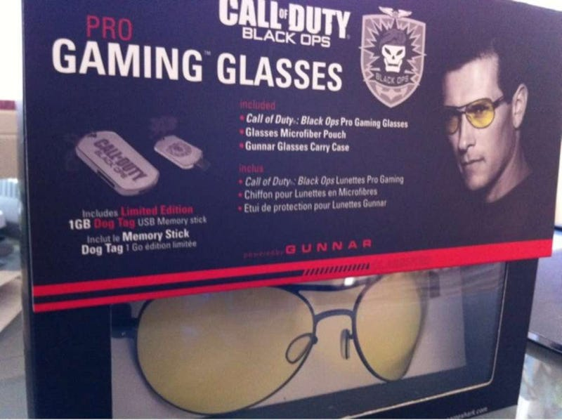 Illustration for article titled Call of Duty: Black Ops Gets Its Own Pro Gaming Glasses