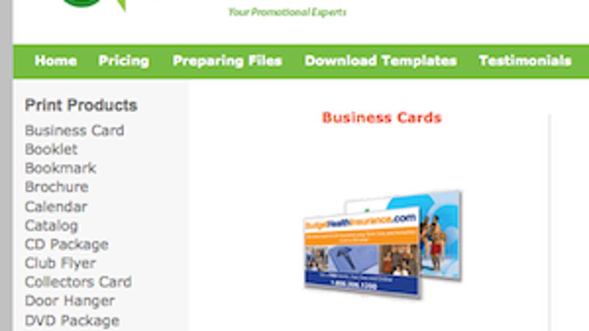 Five best business card printing sites fbccfo Images
