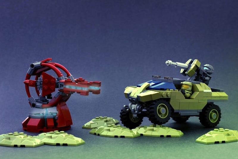 Illustration for article titled Lego Warthog
