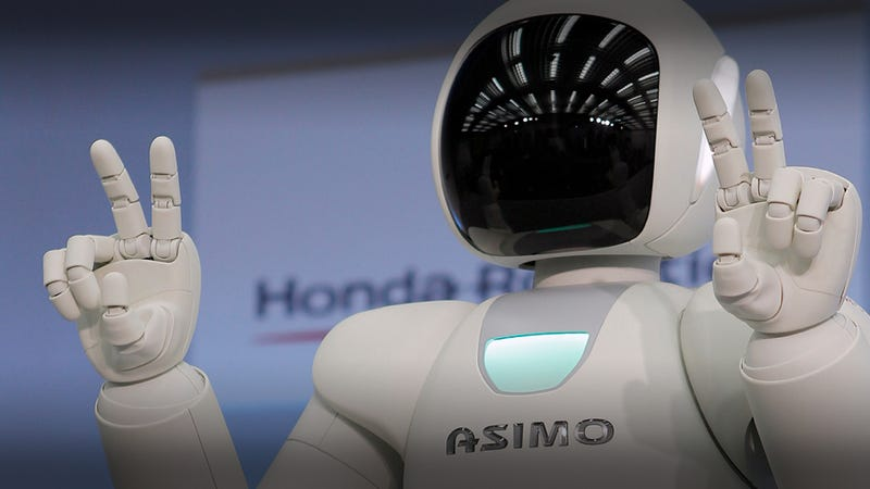 Illustration for article titled New autonomous Honda Asimo next step in rise of machines