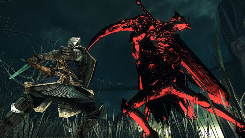 Illustration for article titled Extreme Lag Turns Dark Souls 2 Fight Into Invisible Nightmare