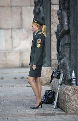 Police Woman Pantyhos 19