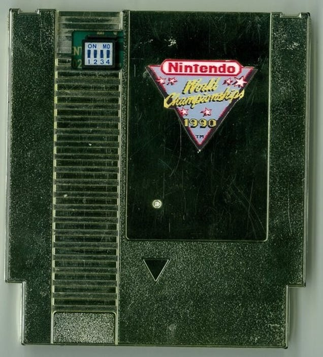 Image result for nes 1992 championship cartridge