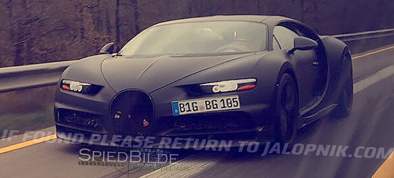 2017 Bugatti Chiron: This Is Pretty Much It