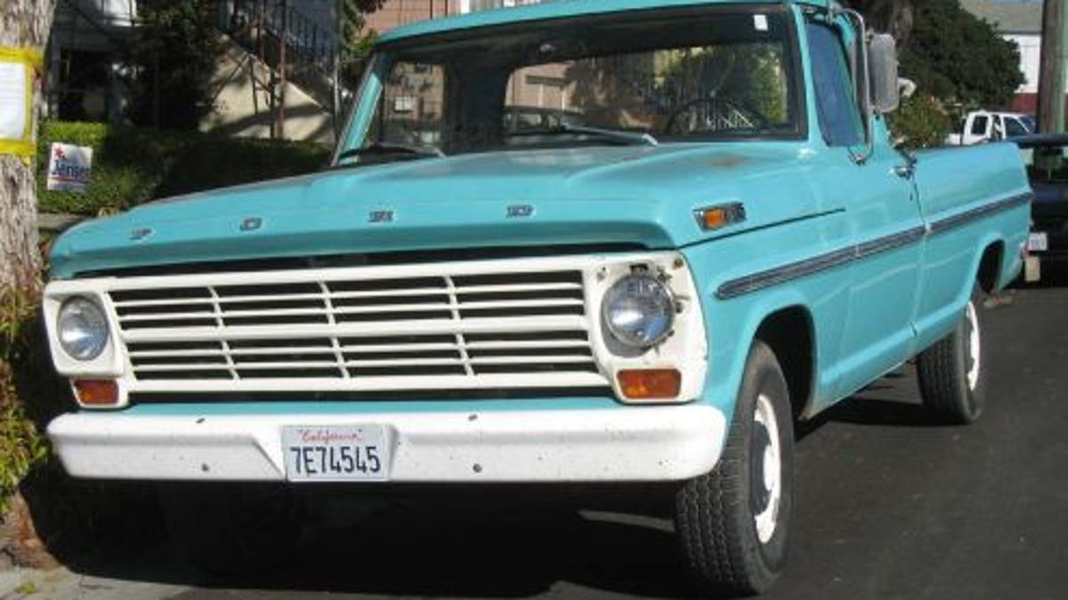 1969 Ford F100 Pickup Truck Short Bed