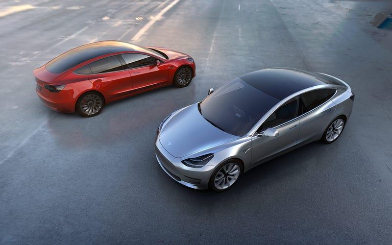 All photos: Tesla Motors