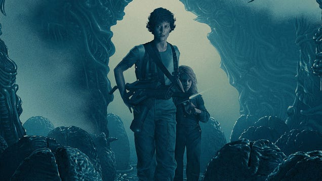 These Are Two of the Best Aliens Posters We've Ever Seen
