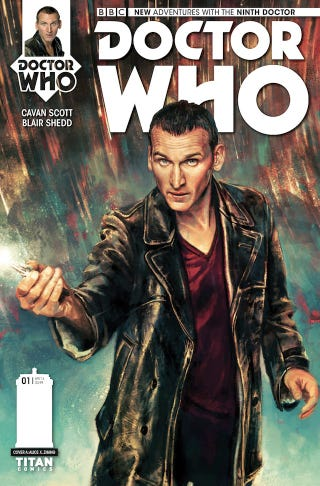Illustration for article titled The Ninth Doctor, Rose And Captain Jack Return In New Doctor Who Comic