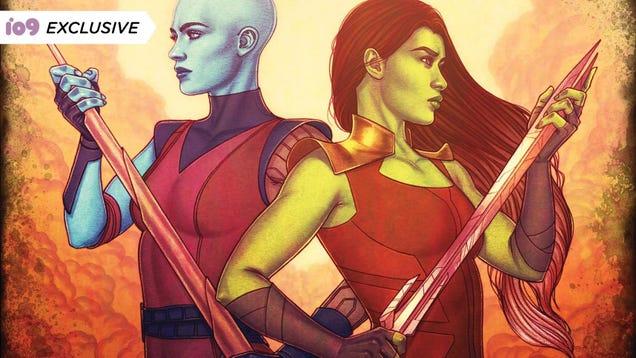 <div></noscript>Nebula's Got Gamora on the Brain in an Exclusive Marvel Book Excerpt</div>