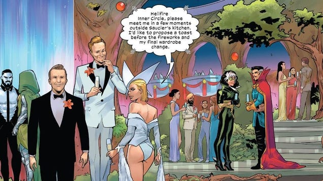 X-Men s Hellfire Gala Is Already a Scandal, Surprising No One