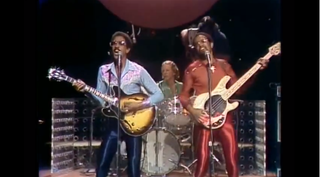 "The Brothers Johnson perform ""Strawberry Letter 23.""YouTube Screenshot"