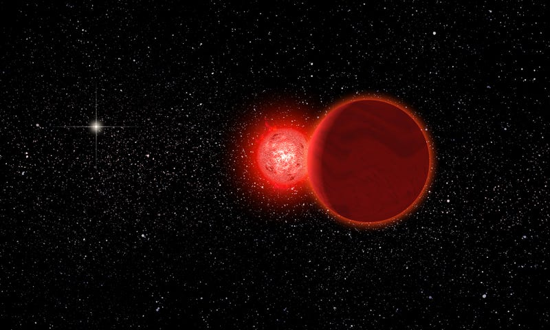 Illustration for article titled A Star Came Within 0.8 Light-Years Of Our Sun 70,000 Years Ago