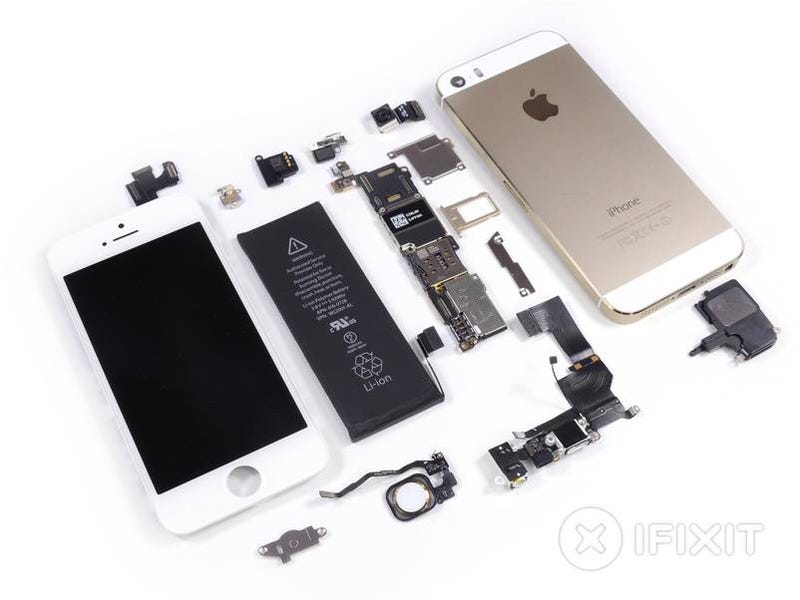 Illustration for article titled El iPhone 5S y 5C, pieza a pieza por dentro