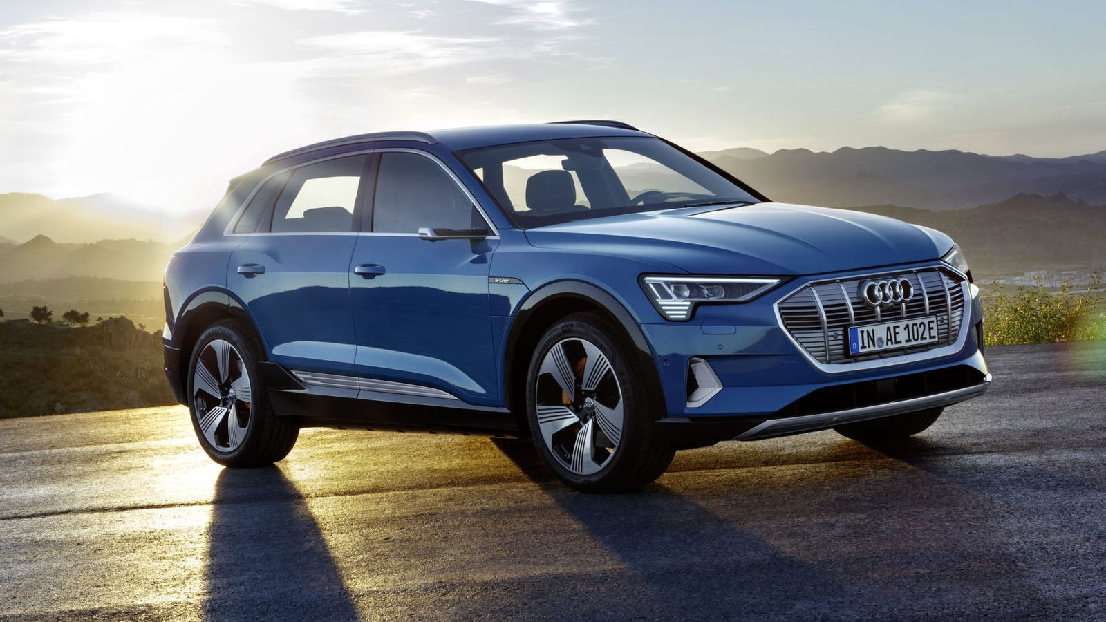 What The 2019 Audi E Tron Shares With The Porsche Macan