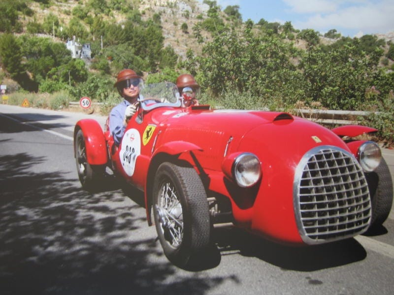 Lovely Ferrari Enthusiast Jim Glickenhaus Has A New Project: A Full Restoration Of The  Worldu0027s Oldest Ferrari, A 1947 166 Spyder Corsa That Was The First Vehicle  ...