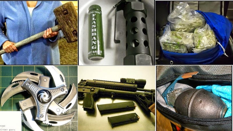 The Craziest Stuff People Tried to Sneak Onto Airplanes ...