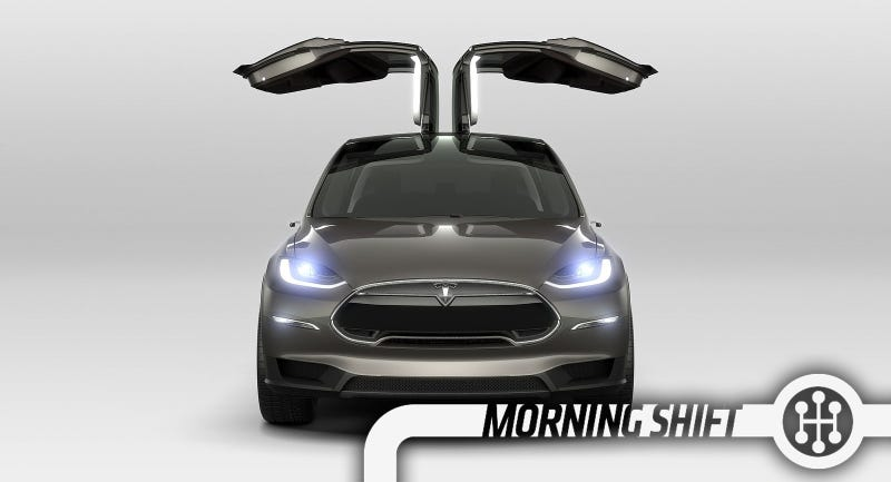 Illustration for article titled The Tesla Model X Is Coming Sept. 29