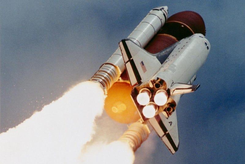 EL transbordador Columbia (Imagen: NASA).