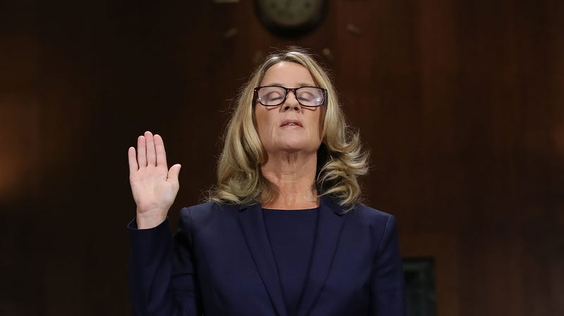 Illustration for article titled Christine Blasey Ford Still Hasn't Been Able to Return Home, Continues to Receive 'Unending' Death Threats