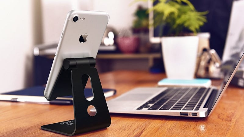 Lamicall Adjustable Device Stand, $8 with code UVUCS8E3