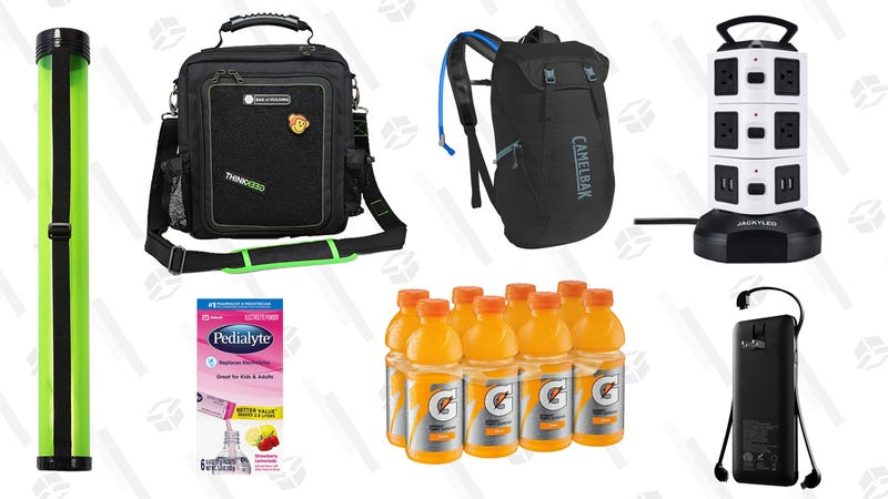 Illustration for article titled All the Gear You That Should Be In Your Con Season Survival Kit