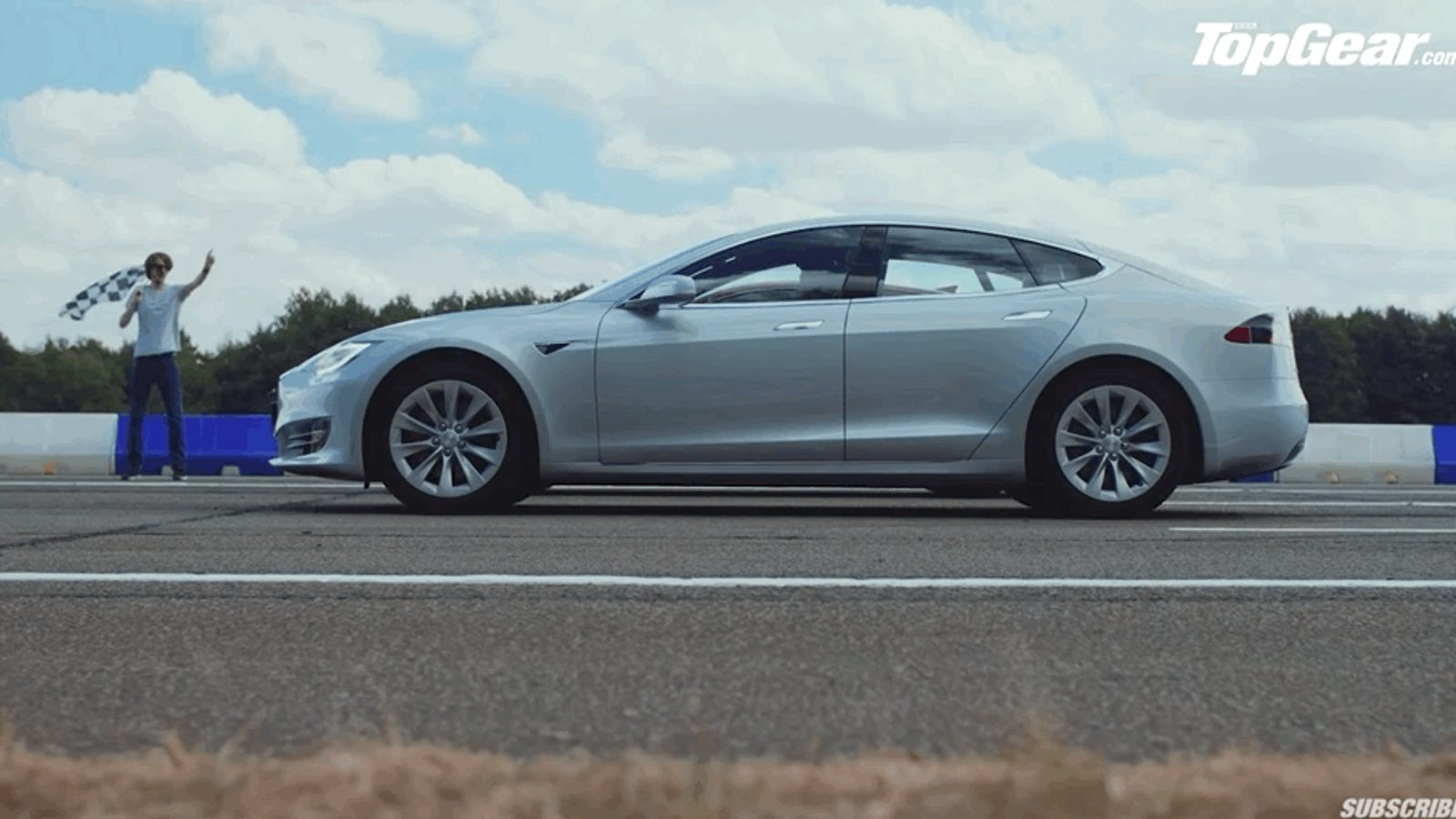 This Kia Stinger Drag Racing A Tesla Model S 75d Is Great Lesson In Torque