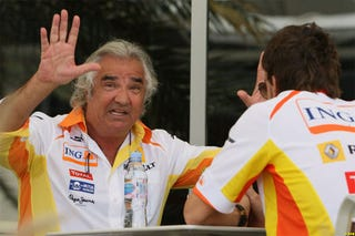 Illustration for article titled Briatore, Staff Out At Renault F1 Over Race-Fixing Scandal