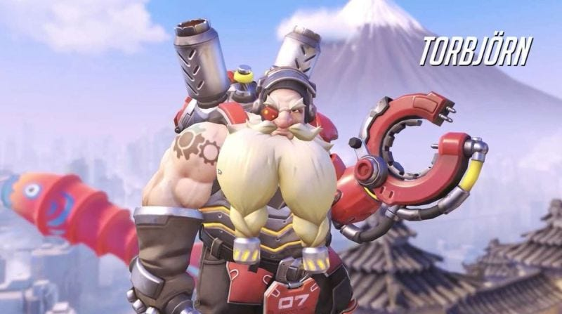 Illustration for article titled Overwatch's Torbjörn Is Getting A Nerf On Consoles