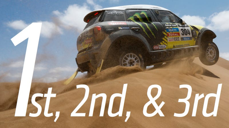 Illustration for article titled MINI Has Dominated The 2014 Dakar Cars