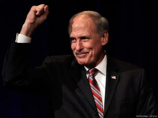 """Illustration for article titled Dan Coats, Indiana's US Senator, Will Not Quit On That US Open """"Under God"""" Thing"""