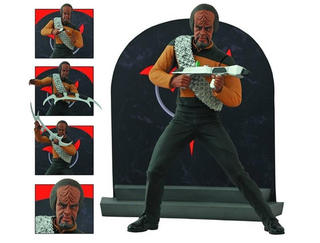 Illustration for article titled Today is a good day to not die, but ogle this wonderful Worf figure!