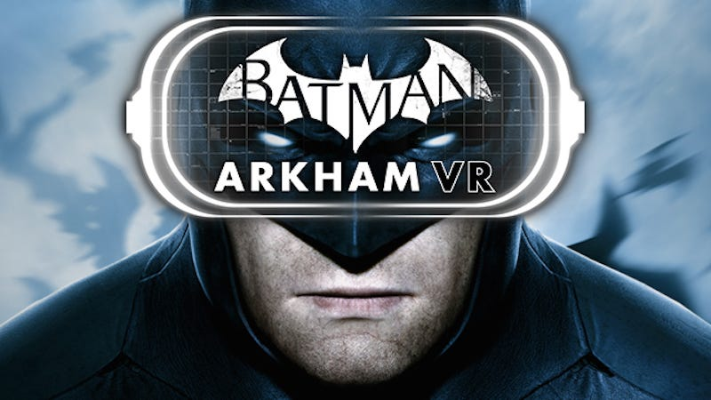 Illustration for article titled Batman, Resident Evil Appear To Be Timed PlayStation VR Exclusives