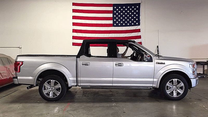 I Guess A Convertible F 150 Is Basically New Bronco
