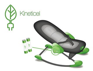 Illustration for article titled Design: Kineticel, the Human Powered Battery Charger