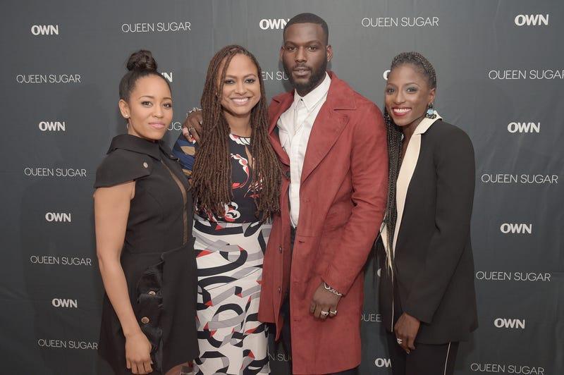 Dawn-Lyen Gardner, Ava DuVernay, Kofi Siriboe and Rutina Wesley at a screening of Queen Sugar in New York City on Sept. 1, 2016