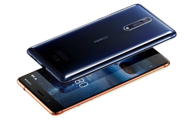 Illustration for article titled Nokia ha vuelto: el nuevo Nokia 8 tiene doble cámara Zeiss y el último Android en estado puro