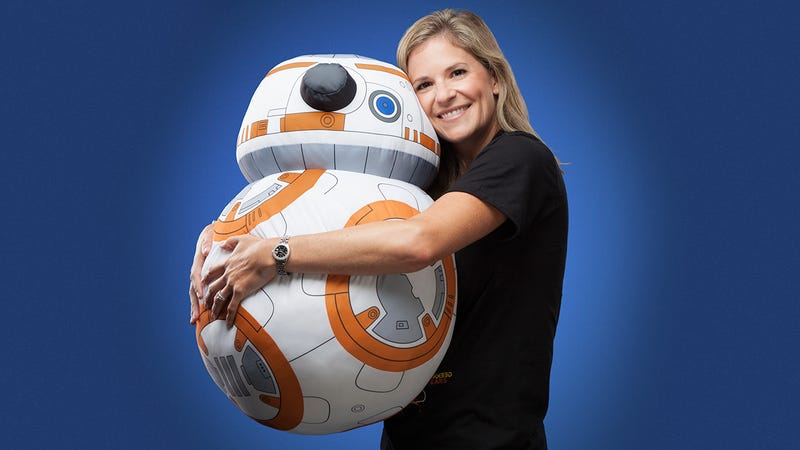 Illustration for article titled A Life-Size Plush BB-8 Is the Next Best Thing To a Real Droid