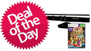 Illustration for article titled Microsoft Kinect is the Hands-Free Deal of the Day