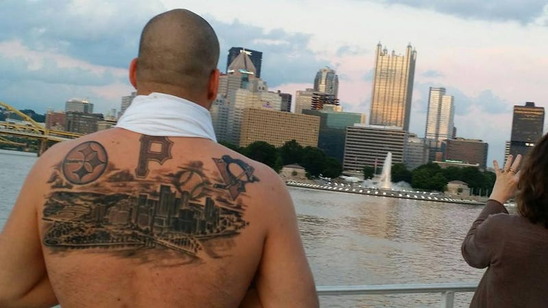 This is a very yinzer tattoo for Tattoo places in pittsburgh