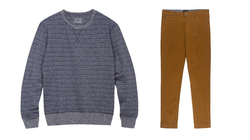 Illustration for article titled Cyber Monday Bests From Jachs: Pick Any Sweatshirt And Chinos For Just $60 (65% Off)