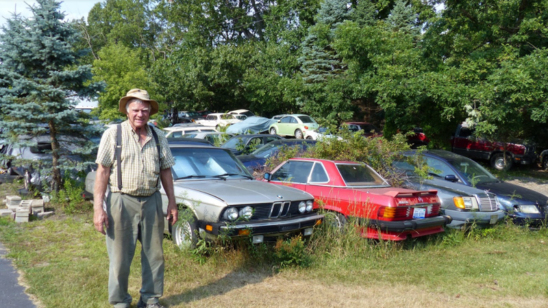 A Michigan Town Is Forcing This Man To Sell 20 Old Cars Off His Property Every Month