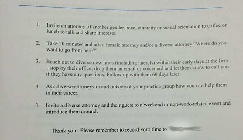 Illustration for article titled Is This the Most Offensively Misguided Diversity Memo You've Ever Seen?