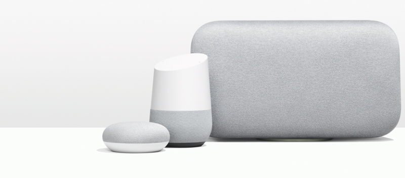 The new Google Home lineup