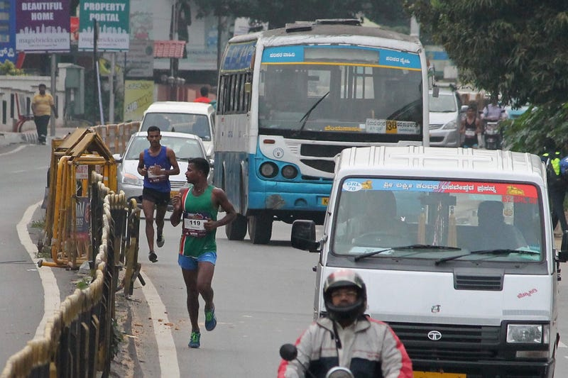 Illustration for article titled Bangalore Leading The Pack Of Worst Marathons To Run