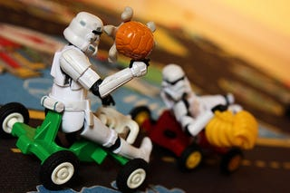 Illustration for article titled Stormtroopers Love Mario Kart, Tetris, Space Invaders